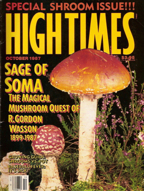 High Times Magazine # 146 - October 1987