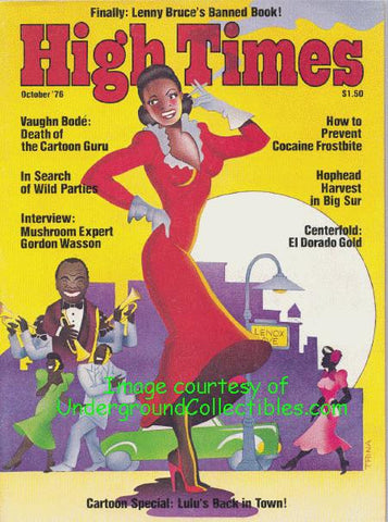 High Times Magazine # 14, October 1976