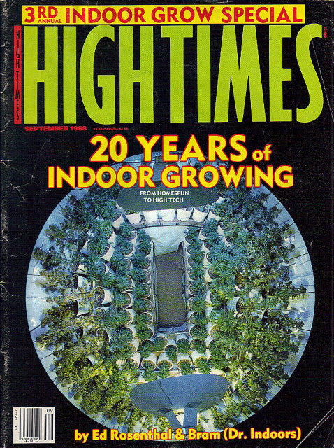 High Times Magazine # 157 - September 1988