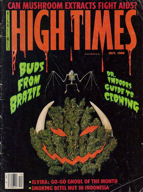 High Times Magazine # 158 - October 1988