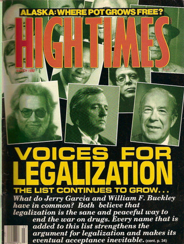 High Times Magazine # 175 - March 1990