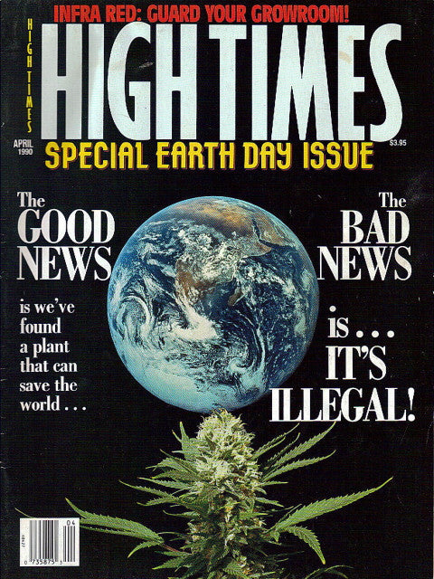 High Times Magazine # 176 - April 1990