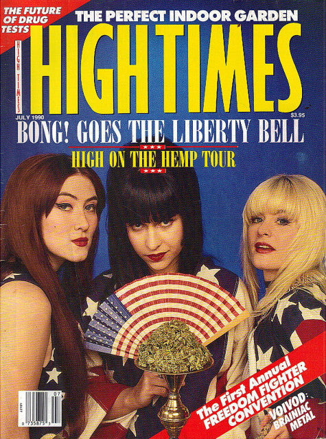 High Times Magazine # 179 - July 1990