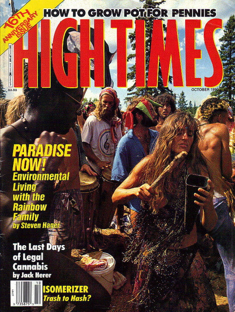 High Times Magazine # 182 - October 1990