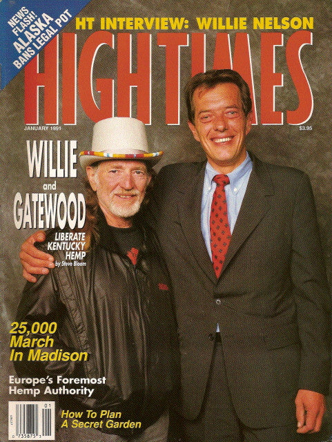 High Times Magazine # 185 - January 1991