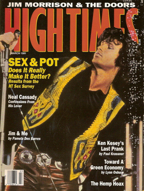 High Times Magazine # 187 - March 1991
