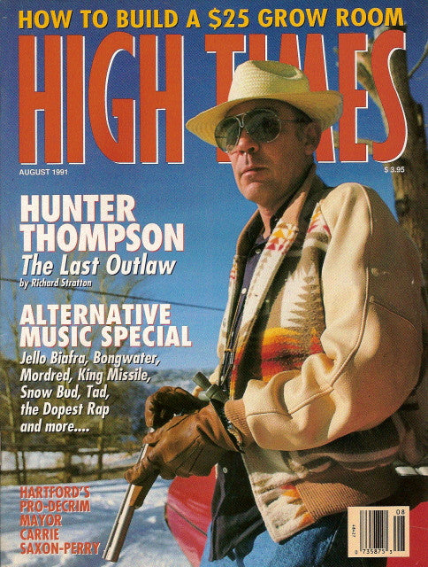High Times Magazine # 192 - August 1991