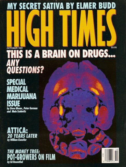 High Times Magazine # 194 - October 1991