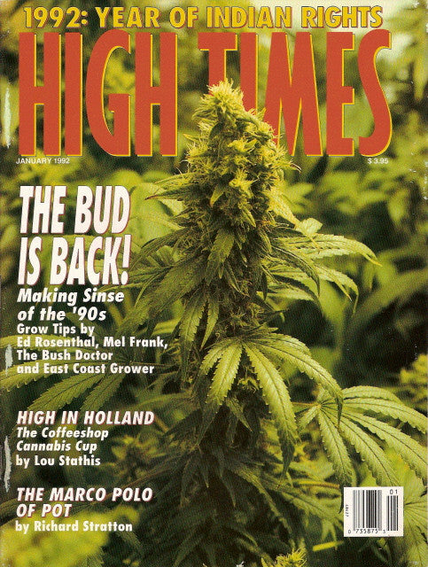 High Times Magazine # 197 - January 1992