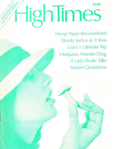 High Times Magazine #  1, 1st Issue!