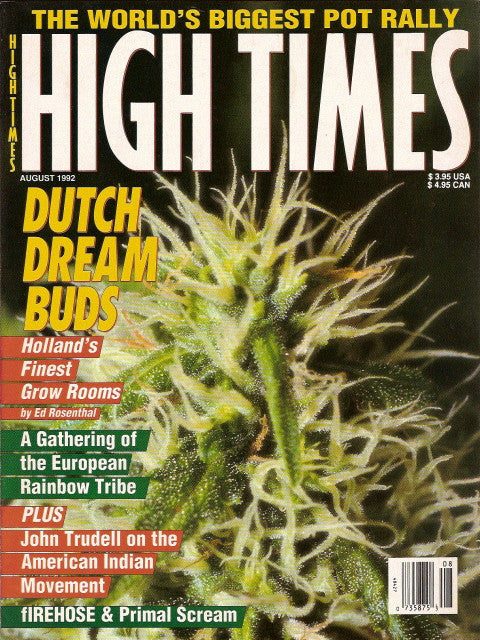 High Times Magazine # 204 - August 1992