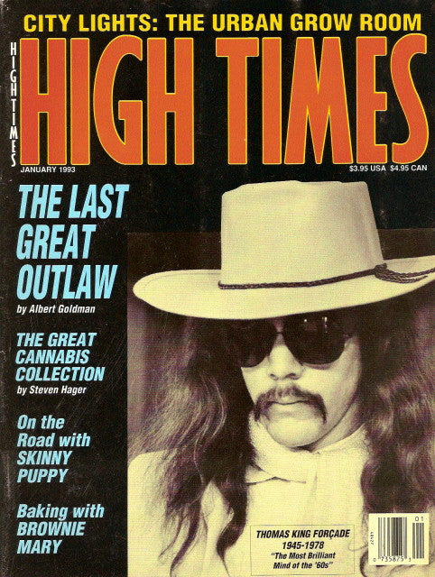 High Times Magazine # 209 - January 1993