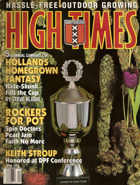 High Times Magazine # 212 - April 1993