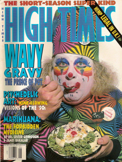 High Times Magazine # 214 - June 1993