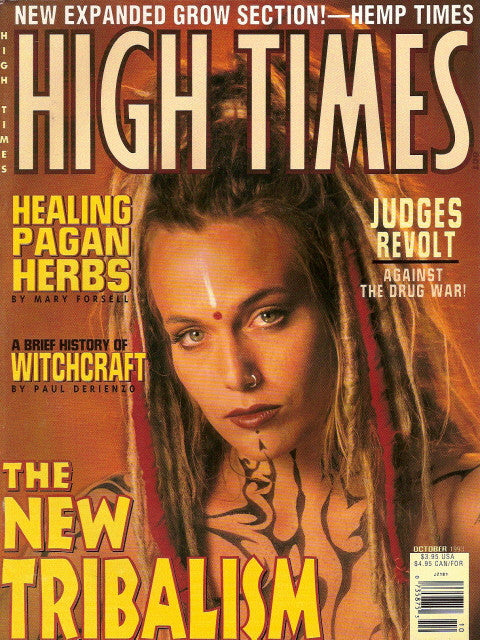 High Times Magazine # 218 - October 1993