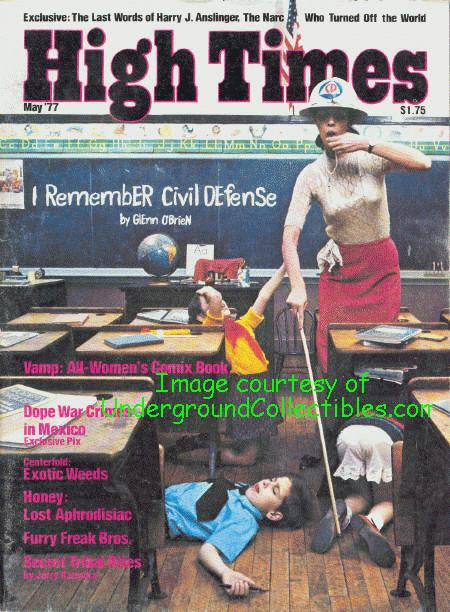 High Times Magazine # 21, May 1977