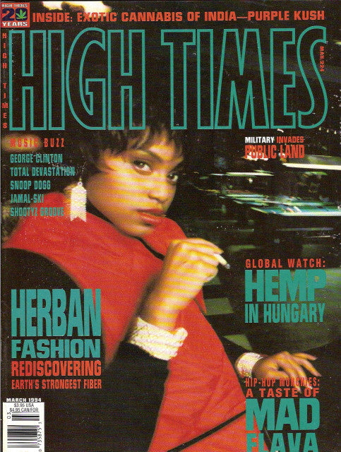 High Times Magazine # 223 - March 1994