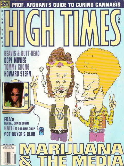 High Times Magazine # 224 - April 1994