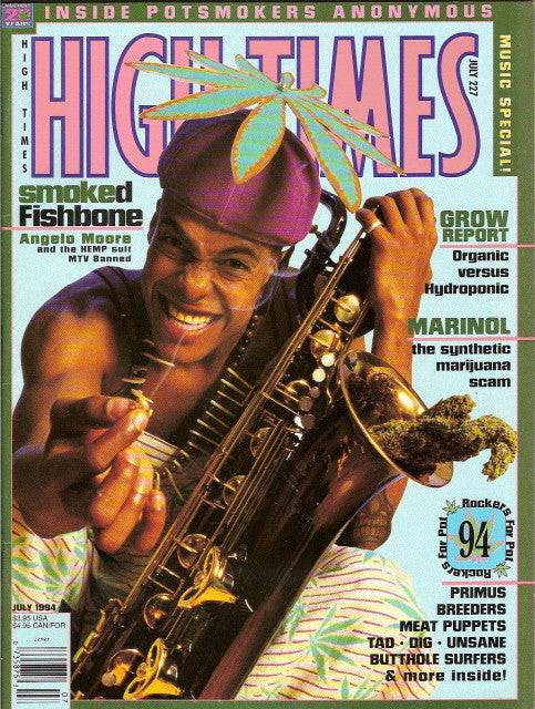 High Times Magazine # 227 - July 1994
