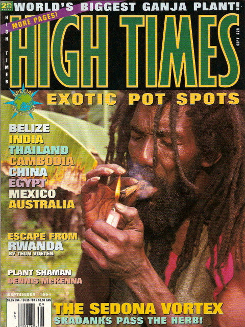 High Times Magazine # 229 - September 1994