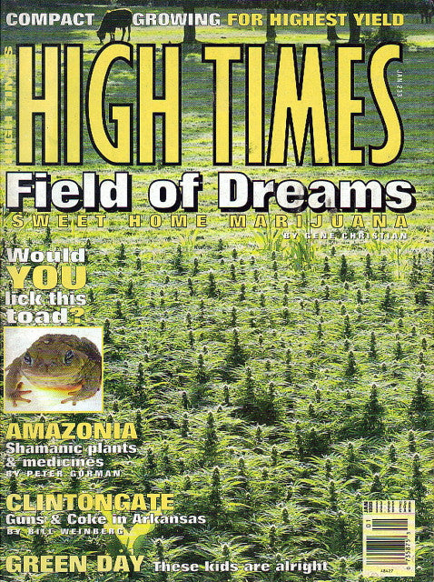 High Times Magazine # 233 - January 1995