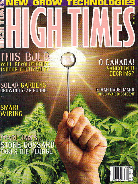 High Times Magazine # 242 - October 1995