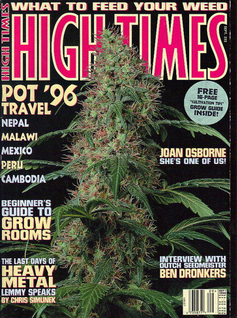 High Times Magazine # 253 - September 1996