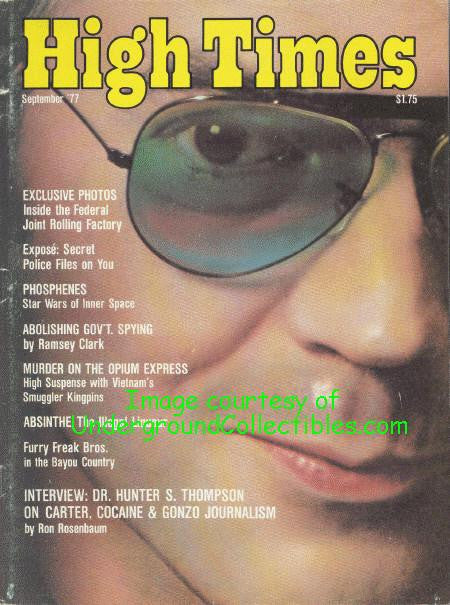 High Times Magazine # 25, September 1977