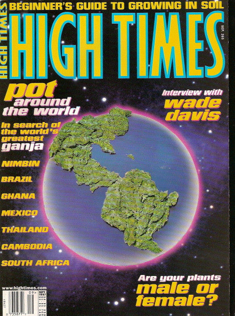 High Times Magazine # 265 - September 1997