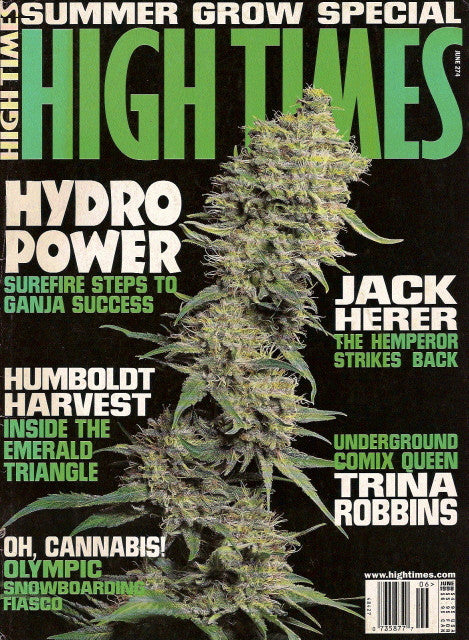 High Times Magazine # 274 - June 1998