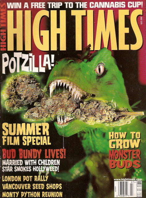 High Times Magazine # 275 - July 1998