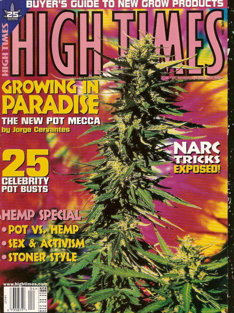 High Times Magazine # 284 - April 1999