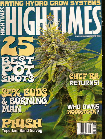 High Times Magazine # 288 - August 1999
