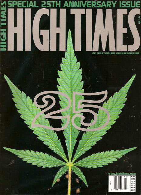 High Times Magazine # 291 - November 1999, 25th Anniversary Issue!