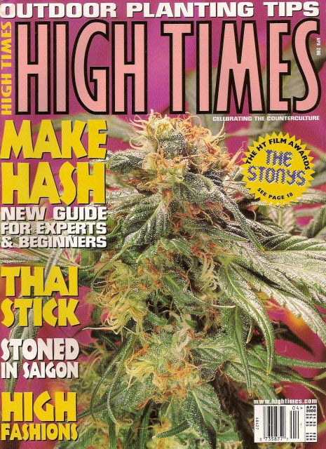High Times Magazine # 296 - April 2000
