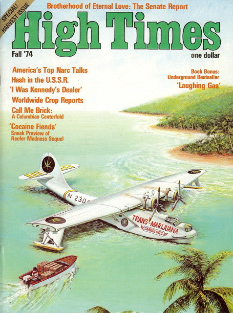 High Times Magazine #  2, 1st print