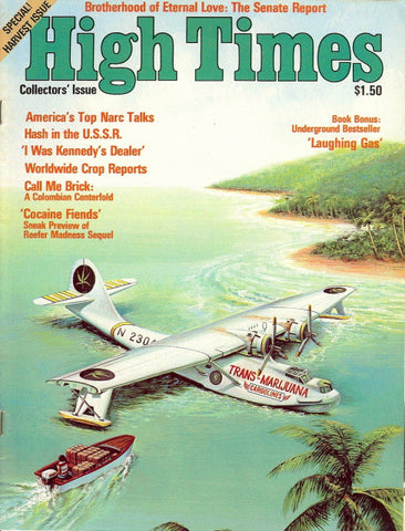 High Times Magazine #  2, Fall 1974