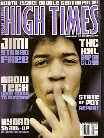 High Times Magazine # 300 - August 2000