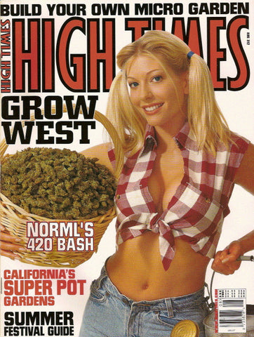 High Times Magazine # 312 - August 2001