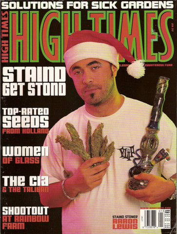 High Times Magazine # 317 - January 2002