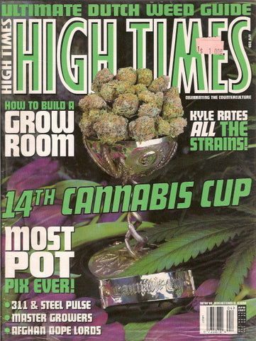High Times Magazine # 320 - April 2002