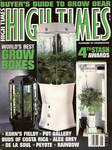 High Times Magazine # 322 - June 2002