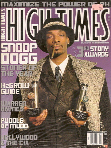 High Times Magazine # 323 - July 2002