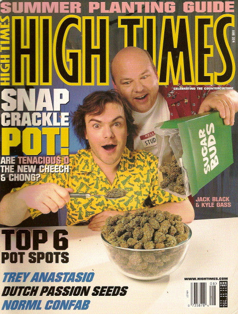 High Times Magazine # 324 - August 2002