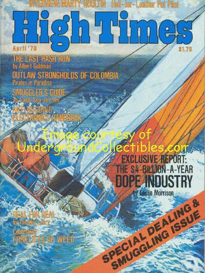 High Times Magazine # 32, April 1978