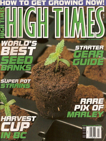 High Times Magazine # 331 - March 2003