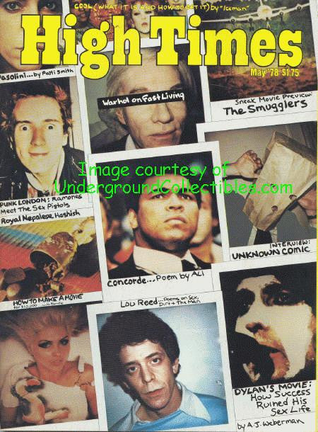 High Times Magazine # 33, May 1978