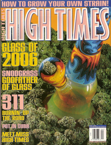 High Times Magazine # 363 - April 2006