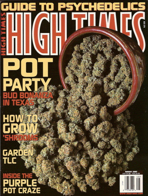 High Times Magazine # 379 - August 2007