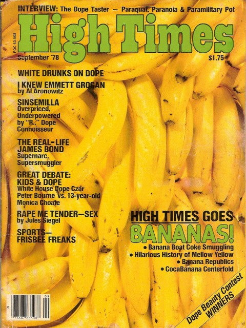 High Times Magazine # 37, September 1978